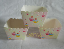 Adorable Cupcake square muffin paper case cupcake liner 20pcs baking accessory