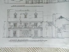 Custom Home Plans 3 Story 4 Bed, 4 1/2  Bath Formals Office Study 4343 A/C Sq FT