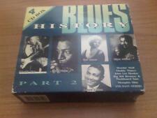 4 CD BOX BLUES HISTORY PART 2 GDL MUDDY WATERS HOWLIN WOLF ETTA JAMES JL HOOKER