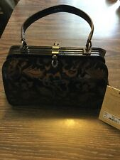 Patricia Nash Etched Floral Collection Handbag New With Tags