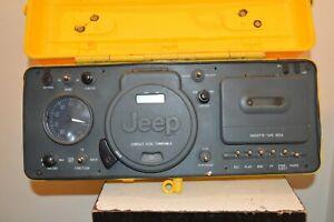 Rare Jeep WPSS-1A Telemania Reader Cassette CD Radio Am/Fm Water Heavy Duty