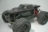 HPI SAVAGE XSCONCEPT DESERT TRUCK REAL CARBON FIBER CONCEPT BODY WITH LIGHTS