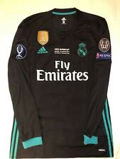 Cristiano Ronaldo Real Madrid Match Prepared Shirt Final Uefa SÚPer Cup 2017