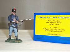 EMPIRE W1-1402 BELGIAN 10TH LINE INFANTRY STANDING LOADING METAL TOY SOLDIER
