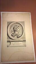 Antique Vintage Engraving of Conrad I 18th/19th Century