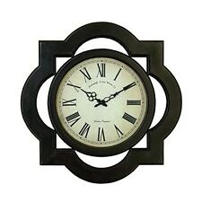 Benzara 81667 Wood Wall Clock Uniquely Scalloped New