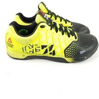 Reebok Crossfit Nano 4.0 Athletic Shoes Solar Yellow Women's Size US 7.5 M49985