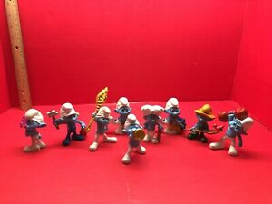 Smurf Figure Lot
