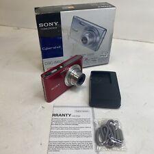 Sony Cyber-shot DSC-W620 14.1MP Digital Camera - Red