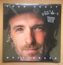 Fran Healy TRAVIS Wreckorder Limited Edition 180GR MP3 POSTER VINYL ALBUM SIGNED
