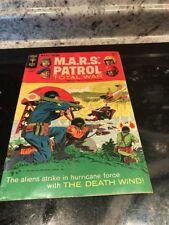 MARS PATROL TOTAL WAR #7 GOLD KEY COMICS 1968
