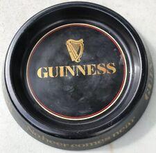 Guinness 8� Metal ashtray Beer Smoking Cigars Cigarette Vintage Beer Advertizing