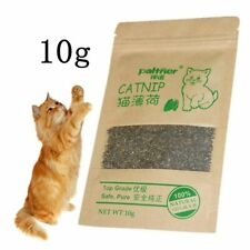 Training Toy Organic 10g Natural Cat Catnip Cattle Grass Cats Mint Leaves