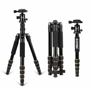 Zomei Q666 Pro Magnalium Trépied Photo Professionnel pour Appareil Photo Caméra