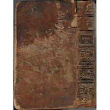 HISTOIRE du PEUPLE de DIEU de l'Origine au MESSIE Issac-Joseph BERRUYER 1739 T4