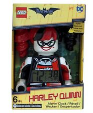 New Genuine The Lego Batman Movie Harley Quinn Minifigure Alarm Clock
