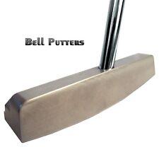 """Bell Non/No Offset 360g Golf Putter Left Hand-Tacki-mac Jumbo-33"""" Shaft"""