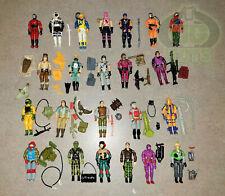 G.I. Joe, GI Joe Large Lot of ARAH, Vintage O-Ring Action Figures & Accessories