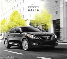 2014 14  Hyundai Azera  original  brochure MINT
