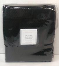 "Restoration Hardware Diamond Matelassé Shower Curtain 72""× 72"" Shale NEW $99"
