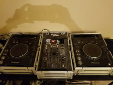 Pioneer CDJ-1000 MK2 (Pair) (Good Condition) and RoadReady Flight Cases