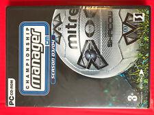 CM4:Championship Manager Season03/04 NEW PC Windows CDrom UK/EU version football