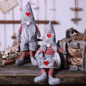 Handmade Tomte Craze Mr & Mrs Gonk Gnome Decoration Ornament Gift Love Heart