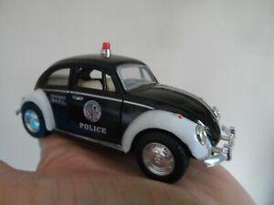 KINSMART, VW CLASSICAL BEETLE (POLICE), Great model and detail. L@@K!