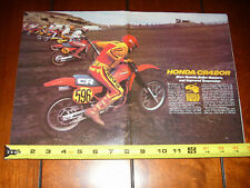 1983 HONDA CR480R - ORIGINAL ARTICLE  CR 480