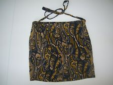 TIGERLILY paisley wrap mini skirt size M