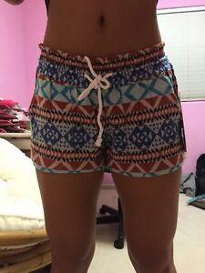 Roxy Juniors' Printed Drawstring Shorts