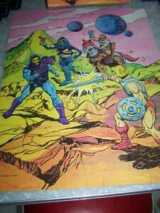 Masters of the Universe 1984 100 Piece He Man Puzzle Fearless Foes Complete