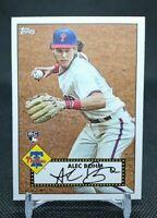 2020-21 Topps Series 1 Alec Bohm Rookie Card RC T52-14 Phillies