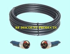 75 ft RFC600 50 Ohm LMR600 compatible Coax CB Ham Extension Cable N Male