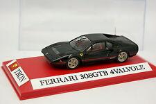 Tron Set aufgebaut 1/43 - Ferrari 308 GTB QuattroValvole Schwarz
