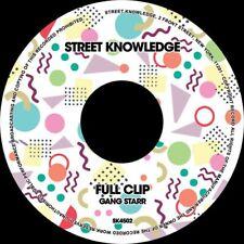 "GANG STARR Full Clip/DWYCK 7"" NEW VINYL Street Knowledge Guru DJ Premier"