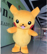 Hotsale Pikachu Adult Mascot Costume Halloween Party Pokemon Go Cosplay game