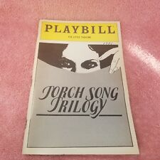 Vintage 1983 - LITTLE THEATRE NYC PLAYBILL - TORCH SONG TRILOGY Program-FreeSHIP
