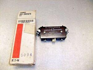 Eaton Cutler Hammer Auxiliary Contact C320KA1