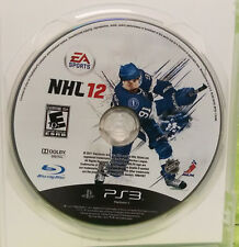 NHL 12 (Sony PlayStation 3, 2011) - DISC ONLY