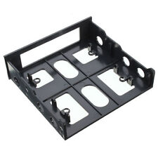 "3.5"" to 5.25"" Drive Bay Computer PC Case Adapter Mounting Bracket USB Hub Floppy"