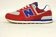 New Balance Preschool PC574SOR (PS) Shoes NEW AUTHENTIC Red/Navy/Grey PC574SOR