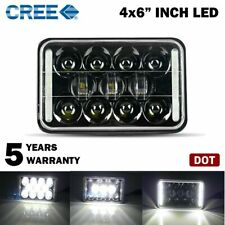 "DOT Approved 60W 4x6"" Cree Led Headlight For Ford Jeep Chevrolet GMC Kenworth"