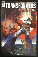 Transformers Unicron #1 1:50 Retailer Incentive 2019 Variant IDW Comic Book