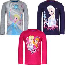 Disney Langarm Mädchen-Tops, - T-Shirts & -Blusen mit Motiv