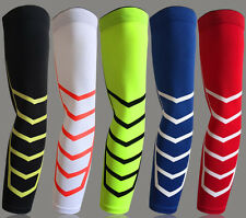 Sports Arm Support Elbow Dri-Fit Compression Sleeve Stretch Basketball Exercise