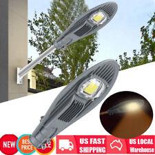 50W 13000LM LED Road Street Flood Light Garden Lamp Outdoor Security Lighting
