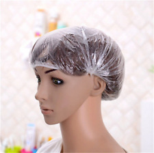 20PCS Pack Disposable Shower Caps Hat Hotel One-Off Waterproof Hair Bath Travel