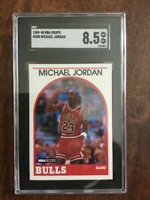 1989 Michael Jordan NBA Hoops #200 SGC 8.5 NM/MINT