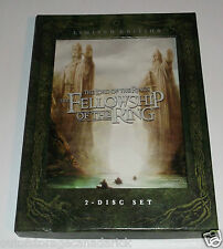 The Lord of the Rings: The Fellowship of the Ring DVD, 2006, 2-Disc Set Canadian